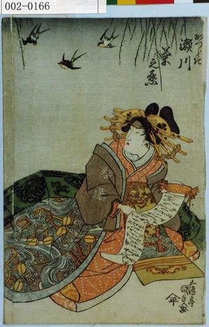 Utagawa Kunisada: 「かつらき 瀬川菊之丞」 - Waseda University Theatre Museum