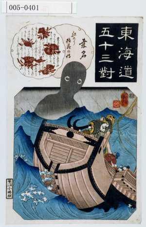歌川国芳: 「東海道五十三対」 - 演劇博物館デジタル