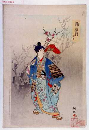 耕耘: 「踊姿絵」「源太」 - 演劇博物館デジタル