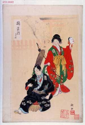 耕耘: 「踊姿絵」「うつほ」 - Waseda University Theatre Museum