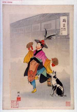 耕耘: 「踊姿絵」「酒屋の御用」 - Waseda University Theatre Museum