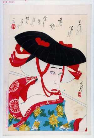 Migita Toshihide: 「三升合姿 葛の葉」 - Waseda University Theatre Museum