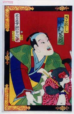 Adachi Ginko: 「さる廻し 中村芝翫」 - Waseda University Theatre Museum