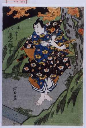 芦ゆき: 「源ノ和多留 江戸 尾上梅幸」 - 演劇博物館デジタル