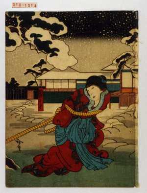 歌川広貞: 「浦さと」 - 演劇博物館デジタル