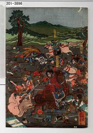 Utagawa Yoshikazu: − - Waseda University Theatre Museum