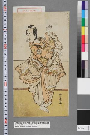 勝川春好: − - 演劇博物館デジタル