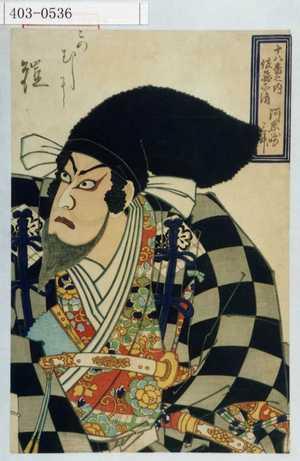Tsukioka Yoshitoshi: - Waseda University Theatre Museum