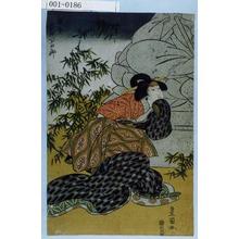 Utagawa Toyokuni I: 「関屋 岩井半四郎」 - Waseda University Theatre Museum