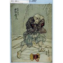 歌川豊国: 「万歳土地右衛門 中村歌右衛門」 - 演劇博物館デジタル