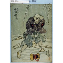Utagawa Toyokuni I: 「万歳土地右衛門 中村歌右衛門」 - Waseda University Theatre Museum