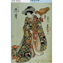 Utagawa Toyokuni I: 「二の宮 瀬川路考」 - Waseda University Theatre Museum