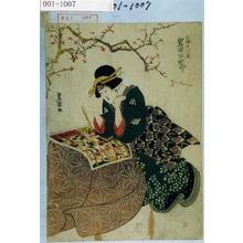 Utagawa Toyokuni I: 「三浦の片貝 岩井半四郎」 - Waseda University Theatre Museum