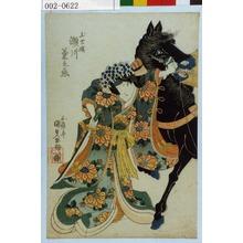歌川国貞: 「玉虫姫 瀬川菊之丞」 - 演劇博物館デジタル