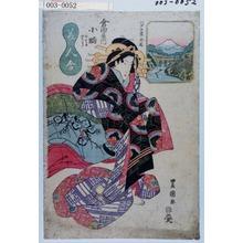 Utagawa Toyoshige: 「美人合」「倉田屋内 小晒し 小てる 小てう」 - Waseda University Theatre Museum