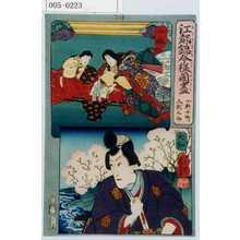 Utagawa Kuniyoshi: 「江都錦今様国尽」「小野小町 久我之助」「山城」「大和」 - Waseda University Theatre Museum