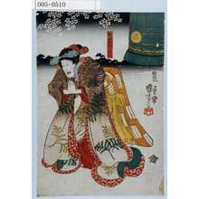 Utagawa Kuniyoshi: 「野分姫ぼうこん」 - Waseda University Theatre Museum