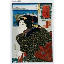 Utagawa Kuniyoshi: 「山海愛度図会 一寸あいたい」 - Waseda University Theatre Museum