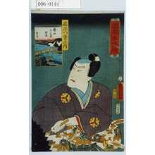 Utagawa Kunisada: 「濡衣女鳴神」「近江八勇の内」「勢田夕之丞照長」 - Waseda University Theatre Museum