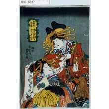 歌川国貞: 「五色花魁香 遊君呉竹 新妓玉琴」 - 演劇博物館デジタル