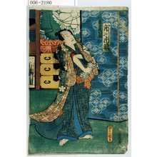 Utagawa Kunisada: 「春日屋時次郎 市川市蔵」 - Waseda University Theatre Museum