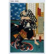 Utagawa Kunisada: 「白拍子桂木」「難波村蜂右衛門」 - Waseda University Theatre Museum
