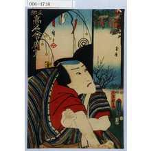 Utagawa Kunisada: 「東都高名会席尽」「玉屋新兵衛」 - Waseda University Theatre Museum