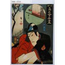 Utagawa Kunisada: 「東都高名会席尽」「助六」 - Waseda University Theatre Museum