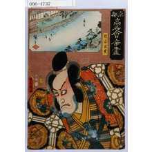 Utagawa Kunisada: 「東都高名会席尽」「熊谷直実」 - Waseda University Theatre Museum