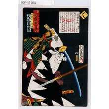 Utagawa Kunisada: 「誠忠義士伝」「間新六光風 大谷友松」「く」 - Waseda University Theatre Museum