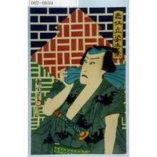 Toyohara Kunichika: 「色仕立姿之栄」 - Waseda University Theatre Museum