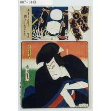 Toyohara Kunichika: 「み立いろはあわせ」「石川五右衛門」 - Waseda University Theatre Museum