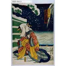 Utagawa Kunisada II: 「大国屋千山 市村家橘」 - Waseda University Theatre Museum