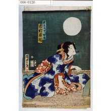 Utagawa Kunisada II: 「新造胡蝶 実は猫の精 市村家橘」 - Waseda University Theatre Museum
