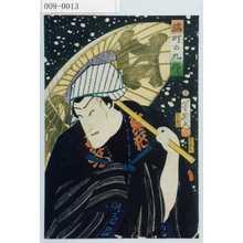 Ochiai Yoshiiku: 「橘町の九郎」 - Waseda University Theatre Museum