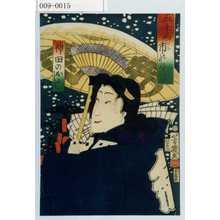 Ochiai Yoshiiku: 「五千両市のにぎハひ」「神田のおよし」 - Waseda University Theatre Museum