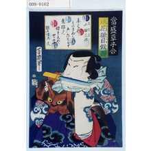 Ochiai Yoshiiku: 「当世草子合」「鏡花猫目仮面」「山猫三次」 - Waseda University Theatre Museum