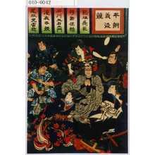 Tsukioka Yoshitoshi: 「本朝義盗競」 - Waseda University Theatre Museum