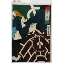 Tsukioka Yoshitoshi: 「勇鳶の初とり」 - Waseda University Theatre Museum