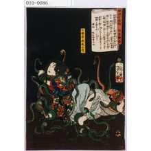 Tsukioka Yoshitoshi: 「[]錦浮世稿談」「小笹原政尾の局」 - Waseda University Theatre Museum