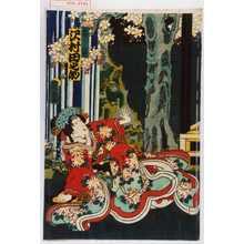 国孝: 「雪姫 沢村田之助」 - Waseda University Theatre Museum