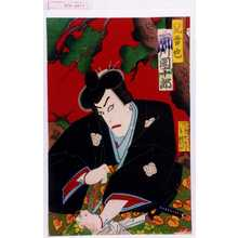 Morikawa Chikashige: 「児雷也 市川団十郎」 - Waseda University Theatre Museum
