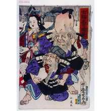 河鍋暁斎: 「七福春の暁筆」 - 演劇博物館デジタル