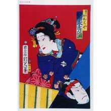 Adachi Ginko: 「籐左エ門娘おはや 坂東秀調」 - Waseda University Theatre Museum