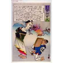 Kobayashi Kiyochika: 「日本万歳 百撰百笑」「御敗将 骨皮道人」 - Waseda University Theatre Museum