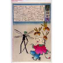 小林清親: 「日本万歳 百撰百笑」「豚の当惑 骨皮道人」 - 演劇博物館デジタル