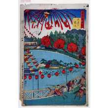 歌川国利: 「東京銘勝会」「不忍の競馬」 - 演劇博物館デジタル