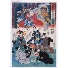 Utagawa Yoshitsuya: 「正物偽物天狗の寄合」 - Waseda University Theatre Museum