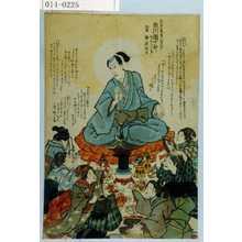 Unknown: 「嘉永七寅年八月六日 市川団十郎 行年三十二才 法名 浄延信士」 - Waseda University Theatre Museum