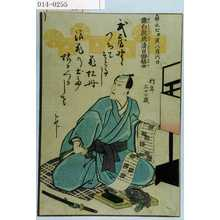 Unknown: 「嘉永七甲寅八月六日 猿白院成清日田信士 行年三十二歳」 - Waseda University Theatre Museum